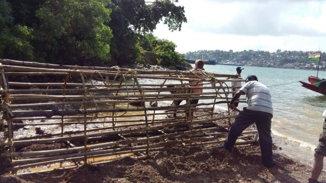 trap-being-prepared-to-capture-the-saltwater-crocodile-at-junglighat-the-city-of-port-blair-can-be-seen-on-the-other-side-photo-credit-yunis-khan